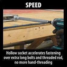 speed, threaded, rod, pipe