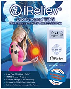 iReliev Pain Relief TENS System