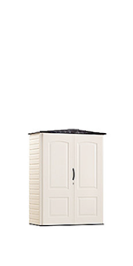 Amazon Com Rubbermaid Plastic Small Outdoor Storage Shed