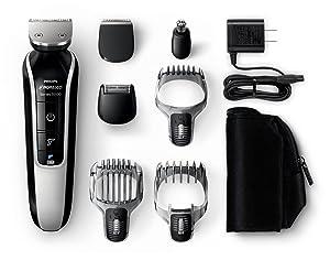 Philips Norelco Multigroom 5100, peluquero, peluquero facial, maquinilla de afeitar, máquina de afeitar, el mejor peluquero para hombre