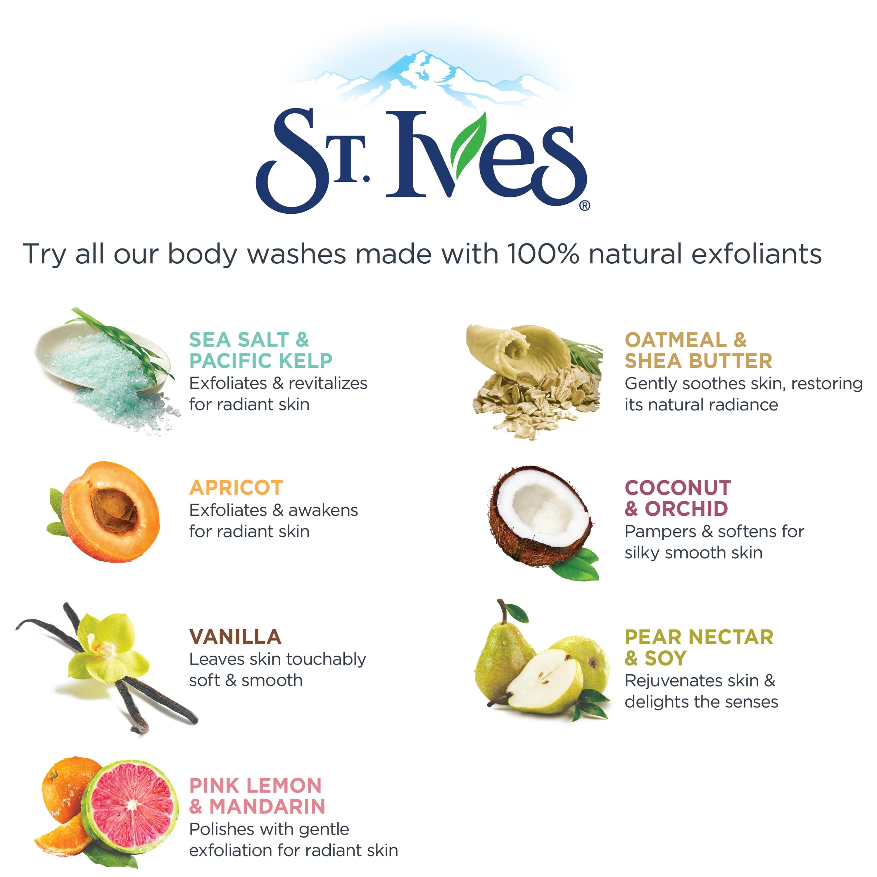St. Ives: Dedicated to Natural Ingredients