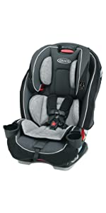 Graco Nautilus Rear Facing >> Amazon.com : Graco SlimFit All-in-One Convertible Car Seat, Darcie : Baby