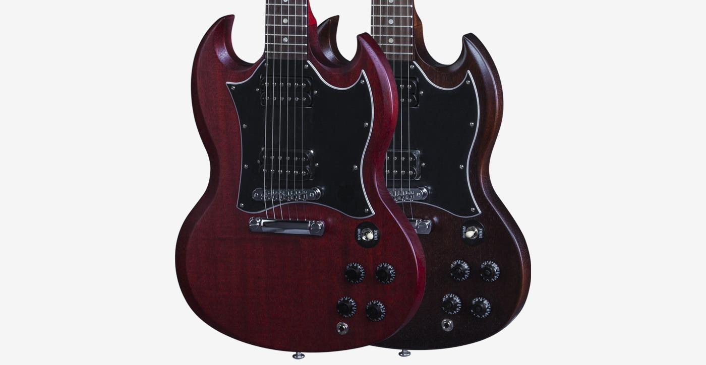 gibson sg faded 2016 t electric guitar worn brown musical instruments. Black Bedroom Furniture Sets. Home Design Ideas