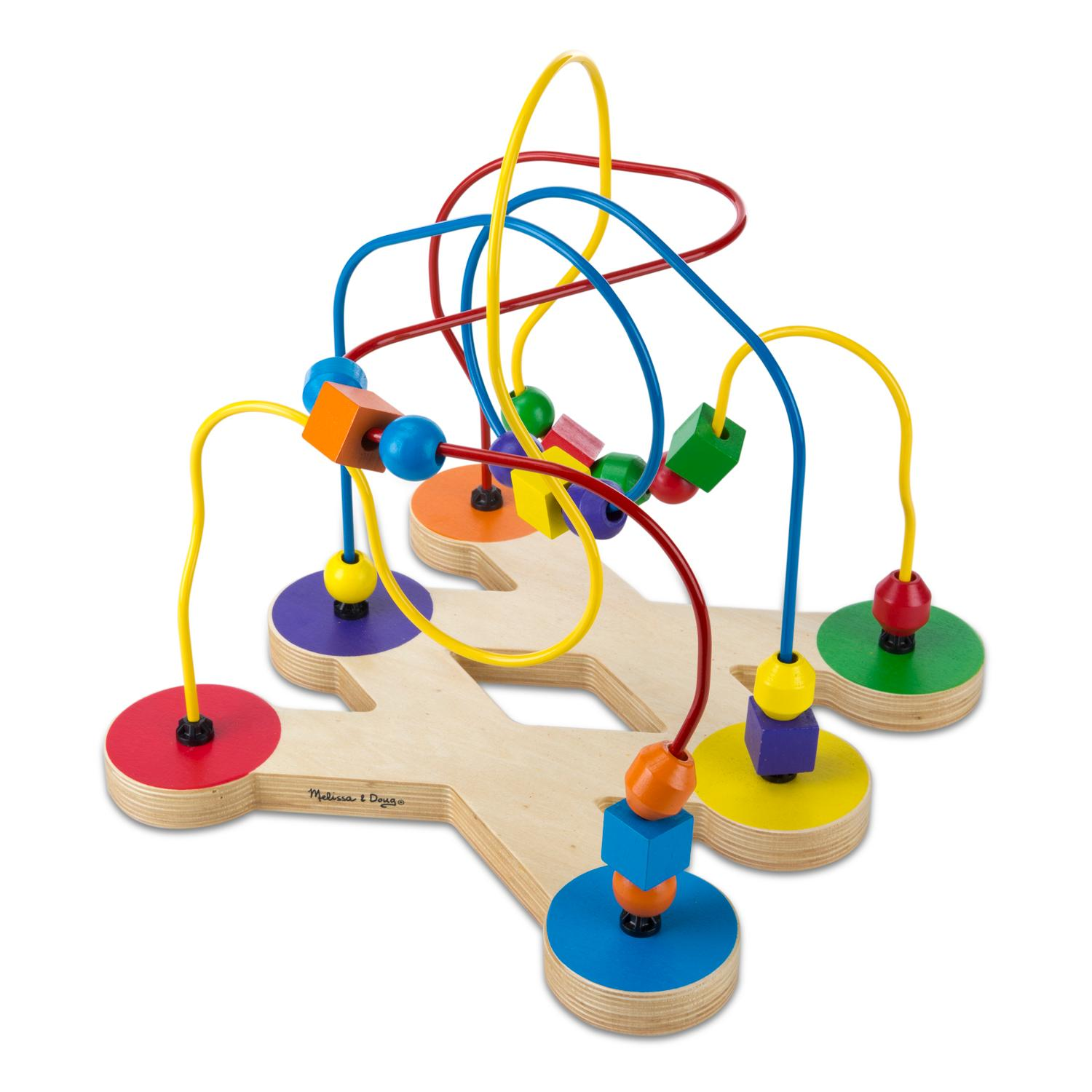 Toddler Educational Toys : Amazon melissa doug classic bead maze wooden