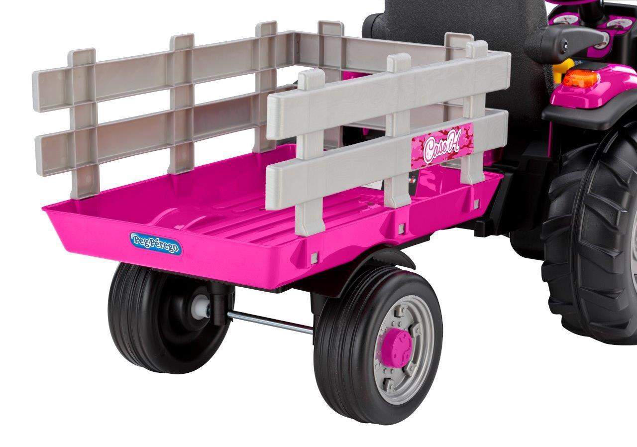 Pink Power Wheels Tractor : Volt kids ride on toys car interior design