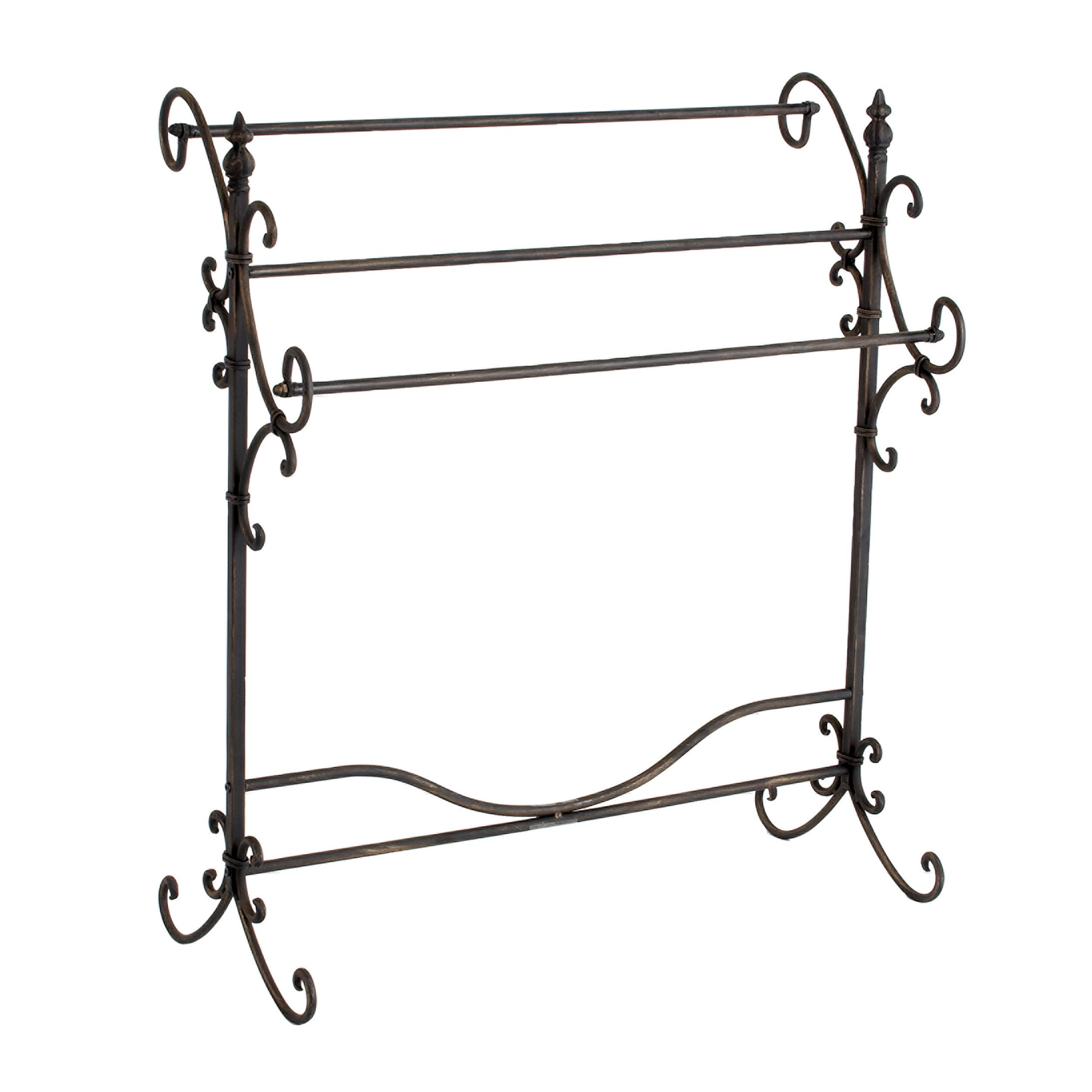 home racks co wayfair darby rack pdx cherry furniture quilt