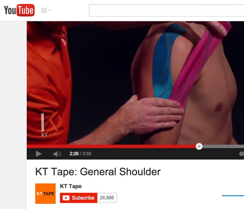 Kt Tape Pro Elastic Kinesiology Ther End 9 19 2018 2 15 Pm