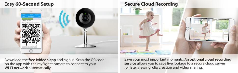 Amazon Com Iluv Mysight Wi Fi Cloud Based Hd Video