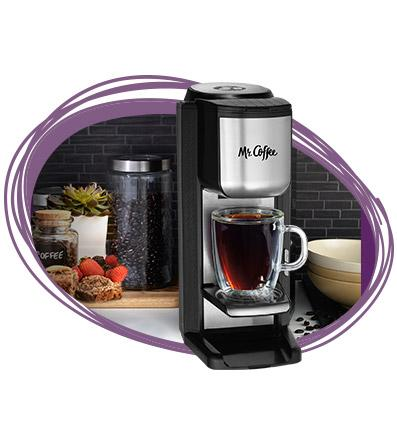 Amazon.com: Mr. Coffee Grind n Brew Coffeemaker with Built-In Grinder and Travel Mug, SCGB200 ...
