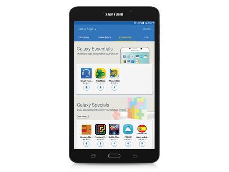 Galaxy tab a parental controls