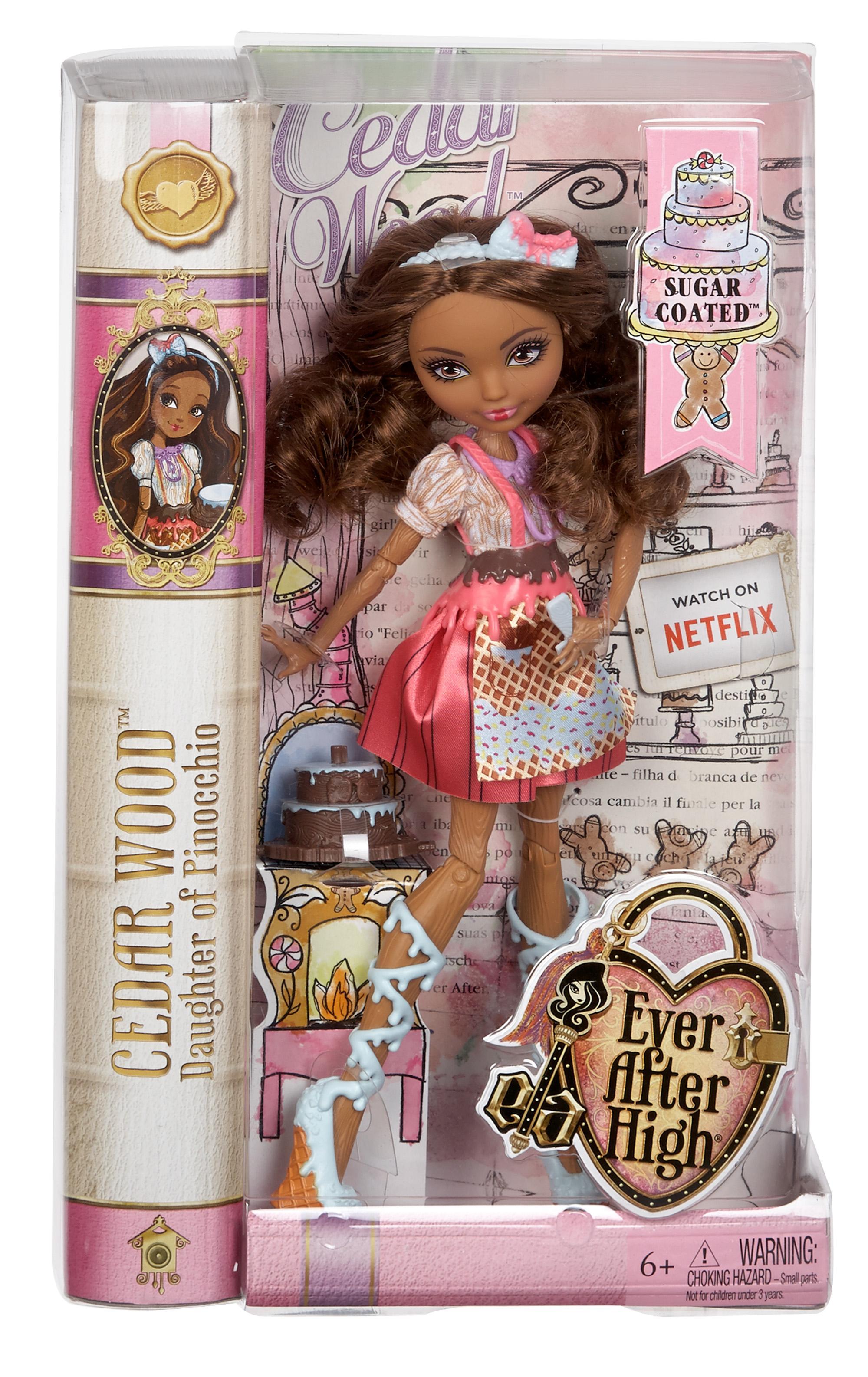 Ever After High Doll~Cedar Wood~Sugar Coated~Ice Cream or Icing Belt