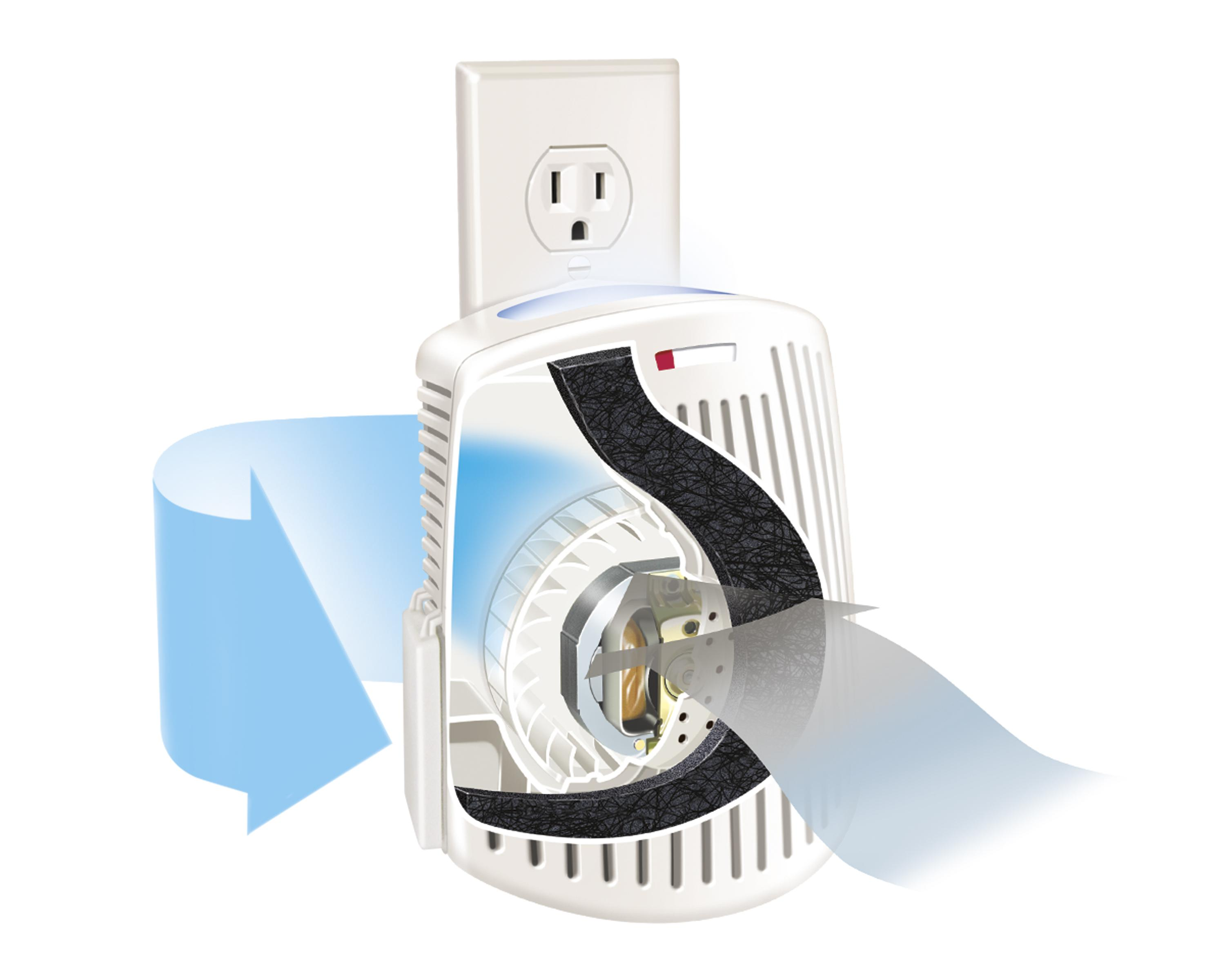 Amazoncom Hamilton Beach TrueAir Plug Mount Odor Eliminator - Bathroom odor