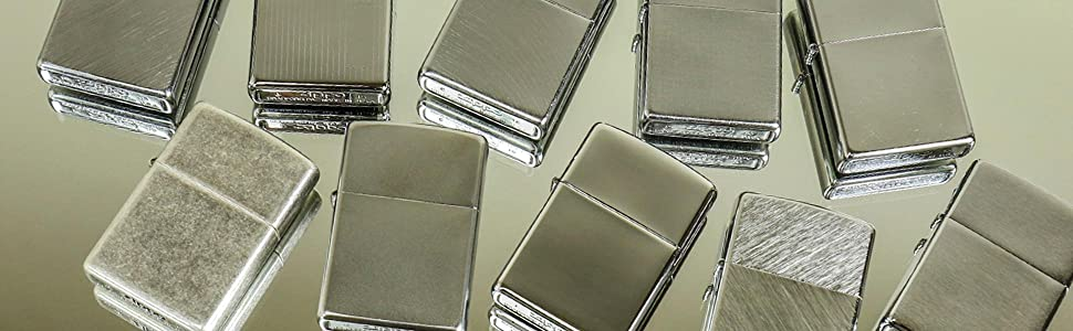 chrome lighters, zippo chrome lighters, chrome, silver lighters
