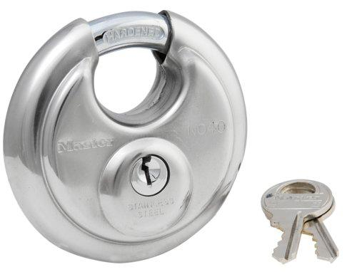 Master Lock 7DPF Round Padlock with Shielded Shackle, 7-7/7-inch ...