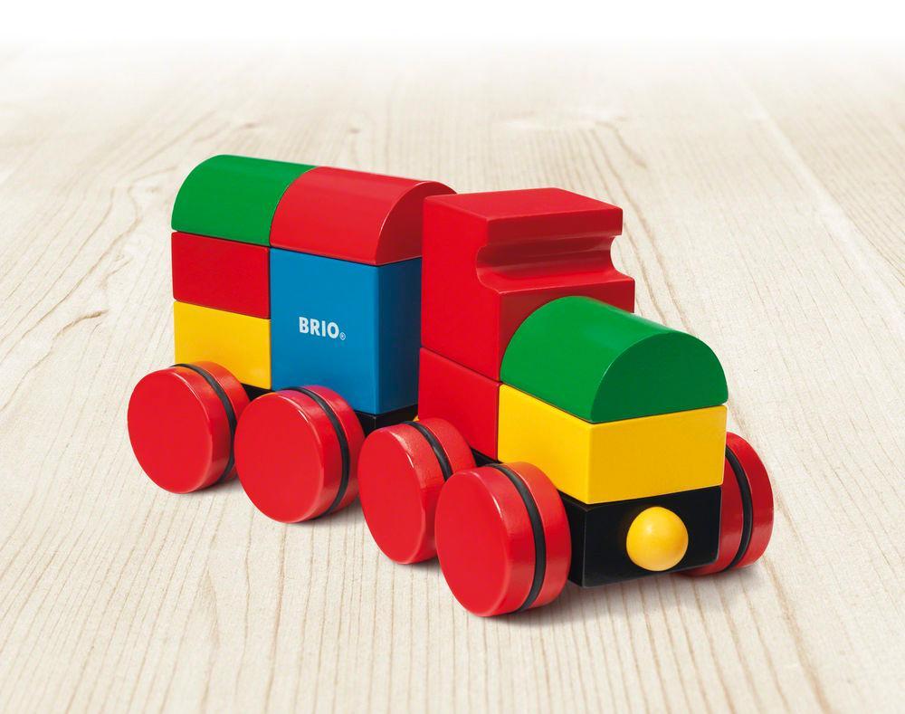 Amazon.com: BRIO Magnetic Stacking Train: Toys & Games