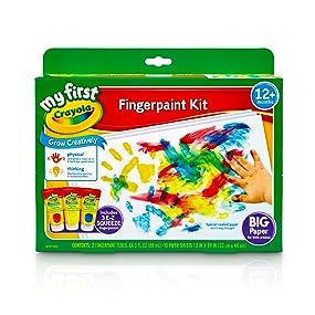 Crayola Fingerpaint Kit