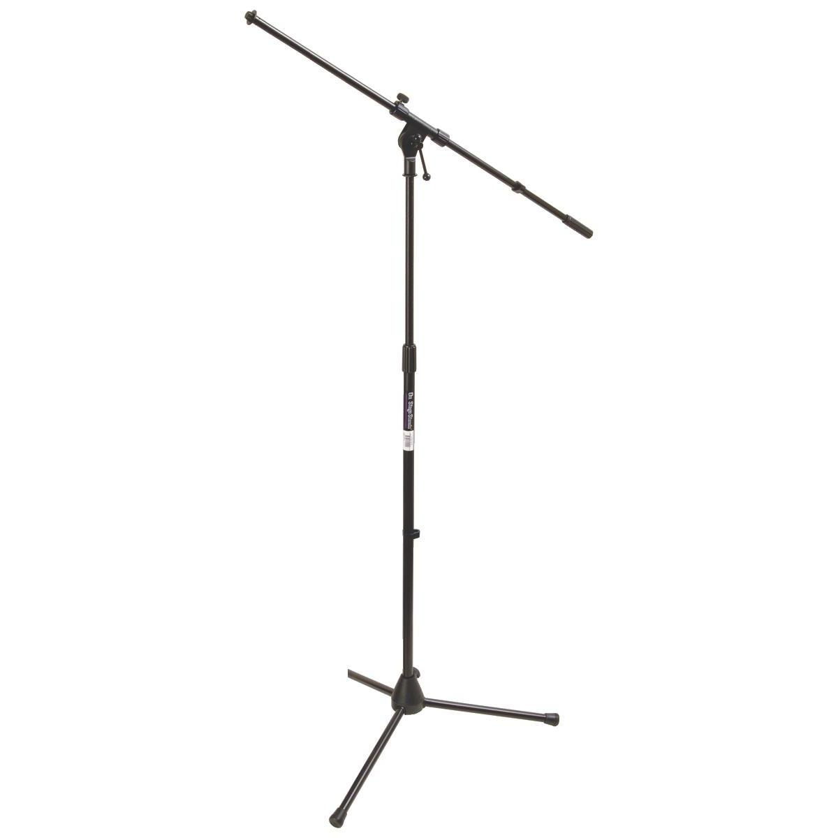 Amazon Com On Stage Stands Ms7701b Tripod Boom Microphone