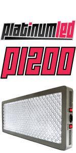 led grow light, PlatinumLED, Advanced Diamond Series, P1200, DS800, Mars Hydro, Apollo, Top LED