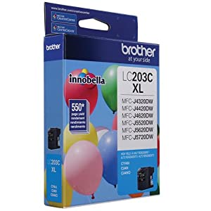 brotehr ink cartridge, LC203C Innobella High Yield (XL series) Cyan Ink Cartridge