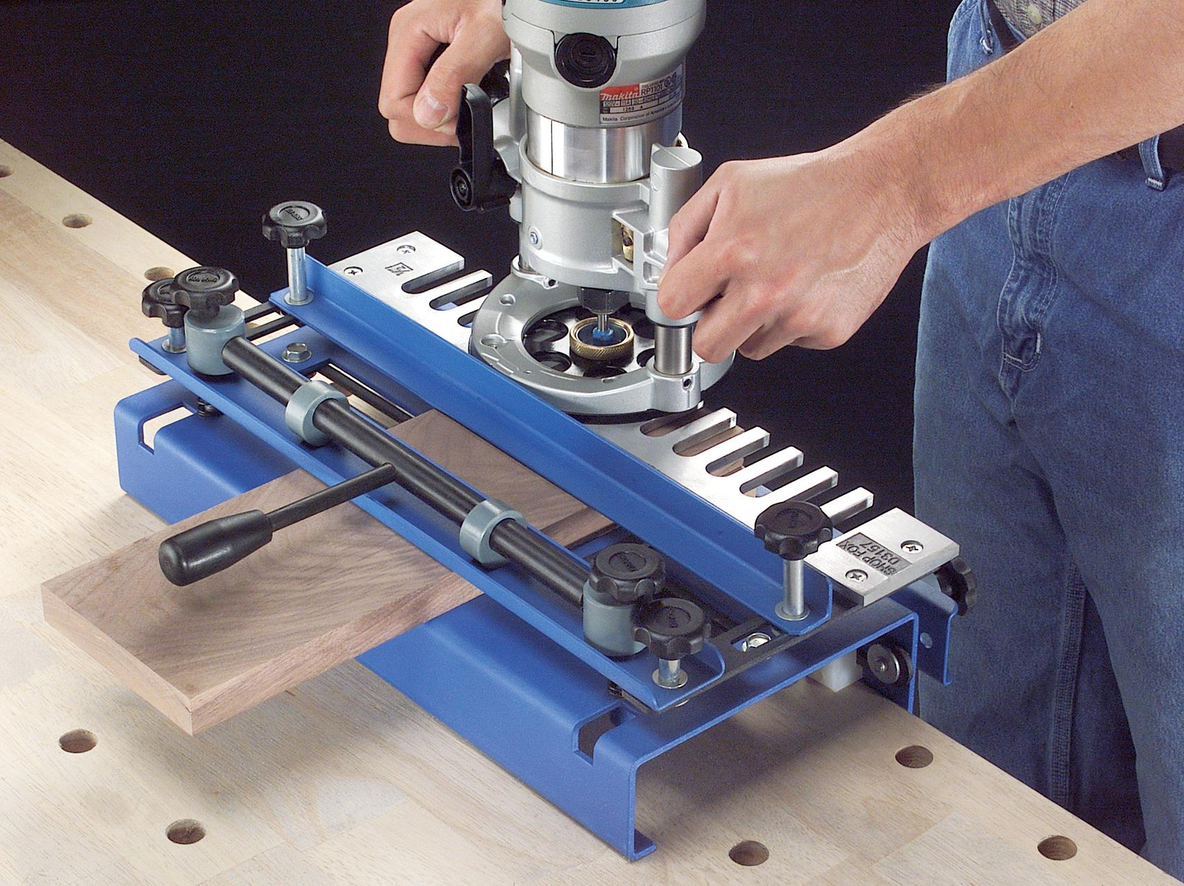 Woodstock D2796 12 Inch Dovetail Jig With Aluminum