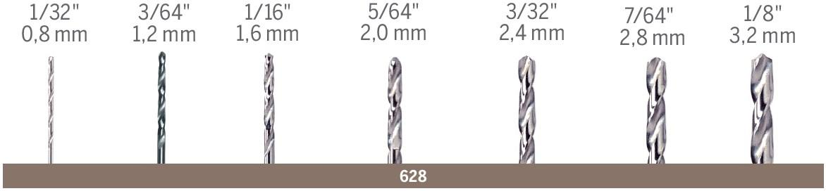 Dremel 663dr 1 4 Inch Glass Drilling Bit Jobber Drill