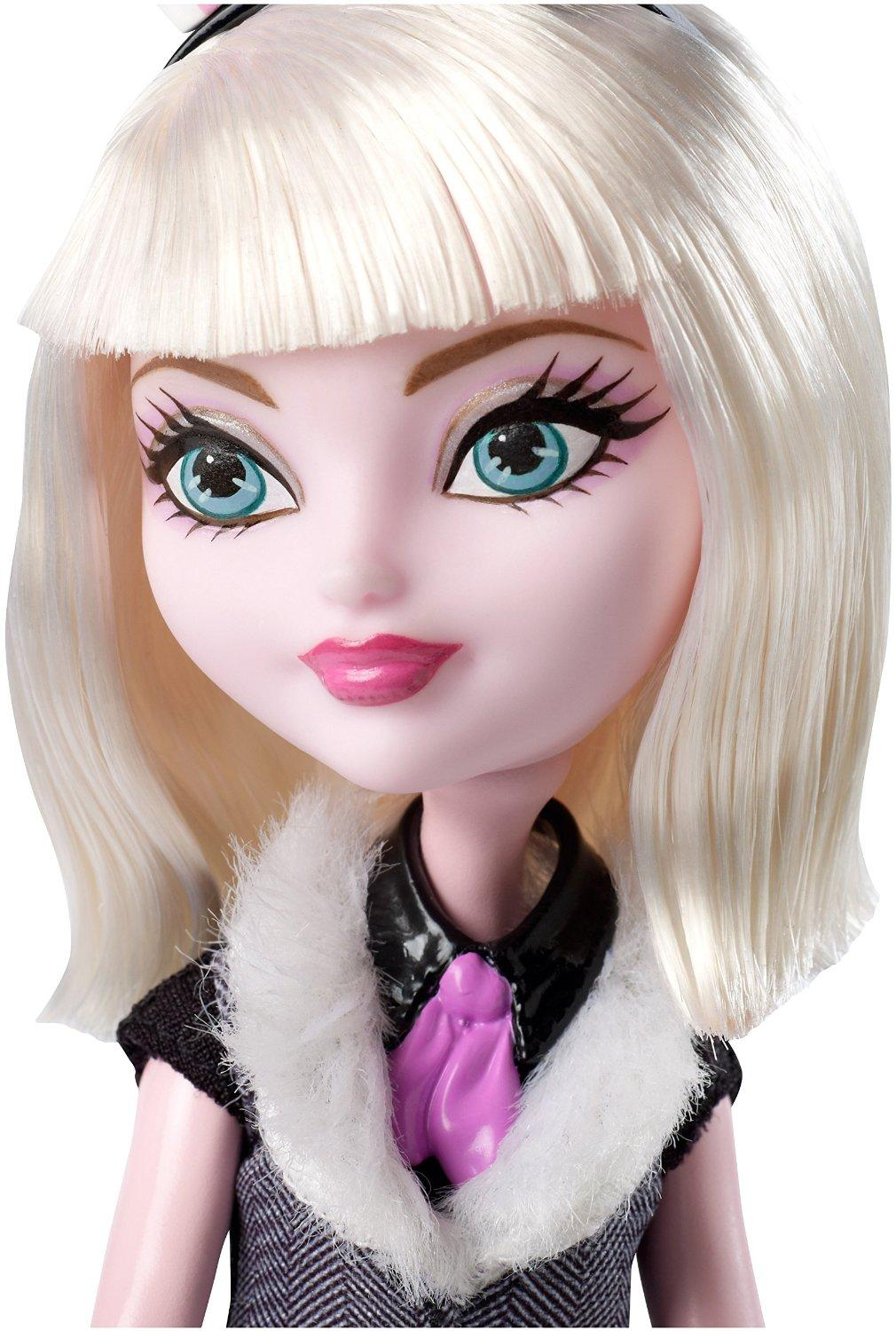If Ever You Need A Reason To Get Out Of A Broken Down Car: Amazon.com: Ever After High Bunny Blanc Doll: Toys & Games