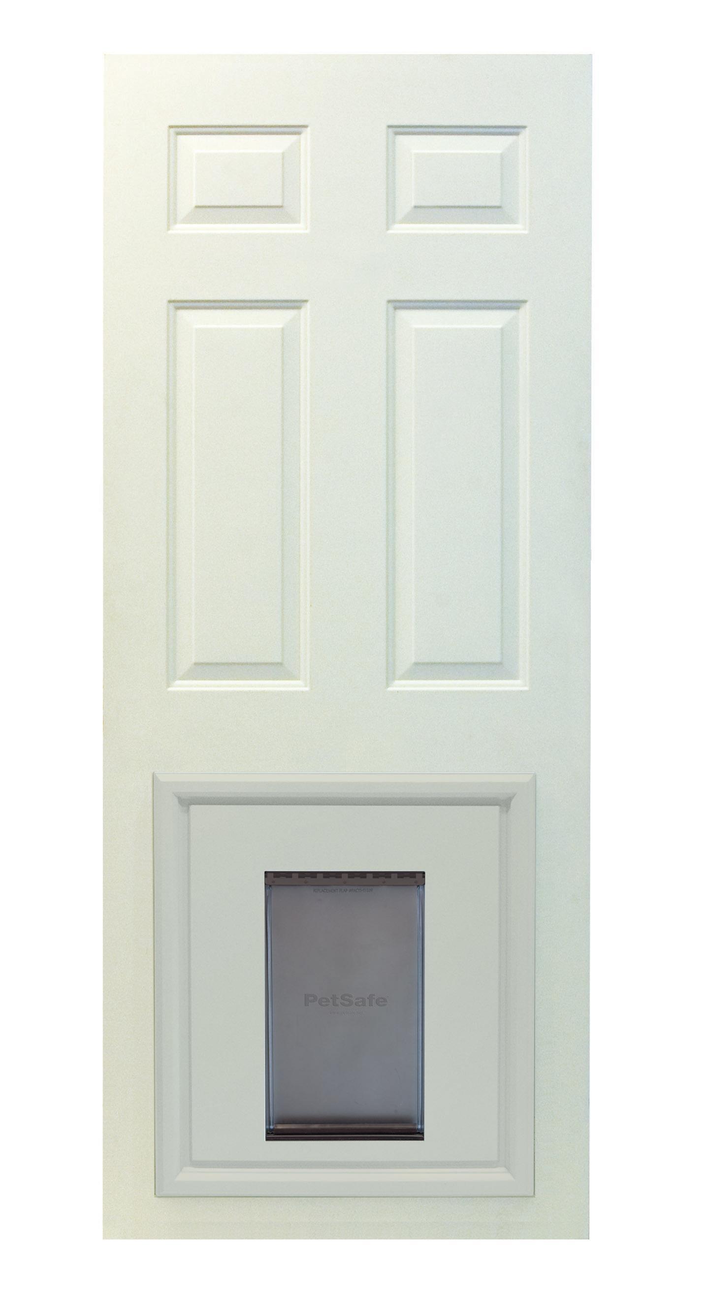 PetSafe Panel Insert  sc 1 st  Amazon.com & Amazon.com : PetSafe Panel Pet Door Paintable White Large : Pet ...