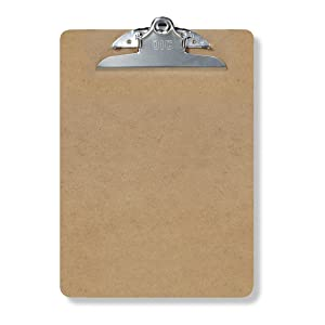 amazon com officemate clipboard letter size 3 pack 83130