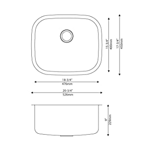 Oversized Kitchen Sink Strainer Amazon