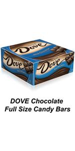 Buy DOVE Chocolate Full Size Candy Bars