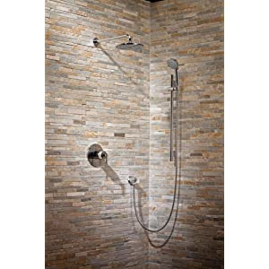 grohe grohflex timeless thm shower set with shower head and hand shower