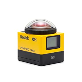 Amazon kodak pixpro sp360 action cam with extreme accessory kodak pixpro sp360 vr camera fandeluxe Images