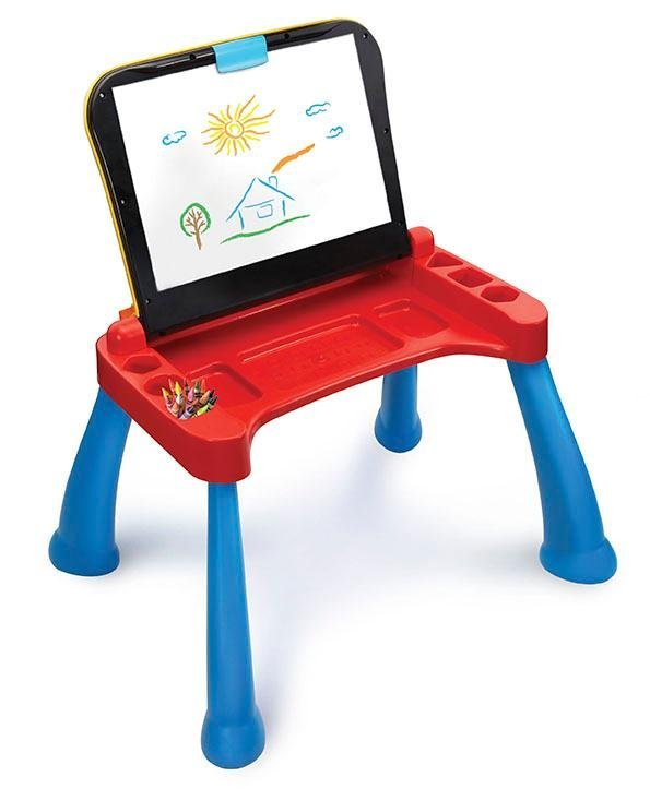 Vtech Touch And Learn Activity Desk Deluxe 731234501765 Ebay