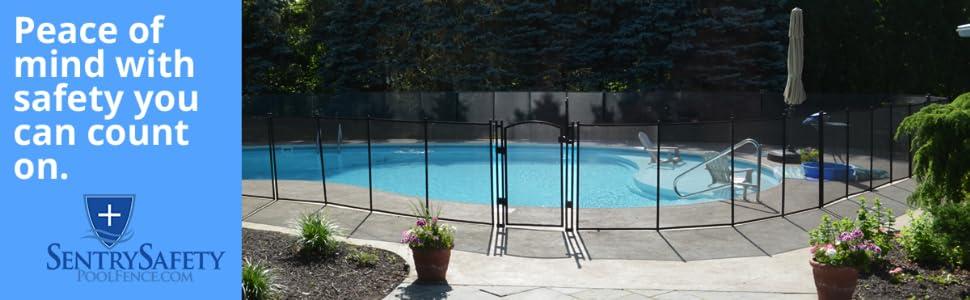 Amazon ez guard child safety pool fence