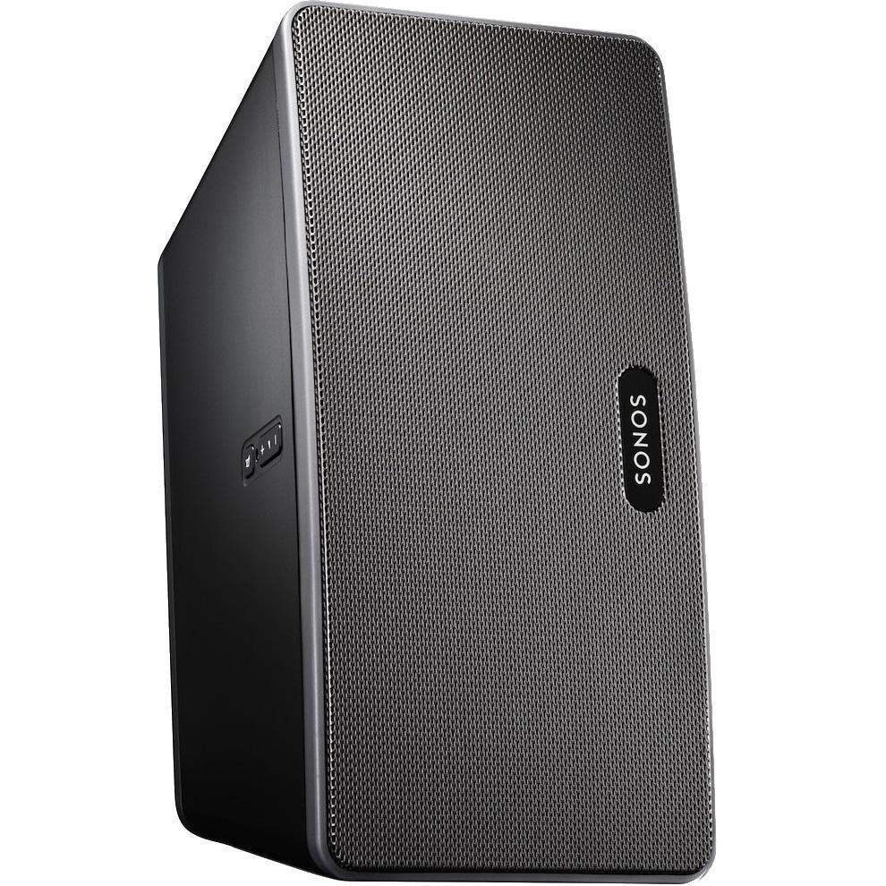 sonos play 3 smart speaker for streaming music black home audio theater. Black Bedroom Furniture Sets. Home Design Ideas