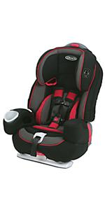 graco nautilus 80 elite 3 in 1 harness booster car seat chili red baby. Black Bedroom Furniture Sets. Home Design Ideas