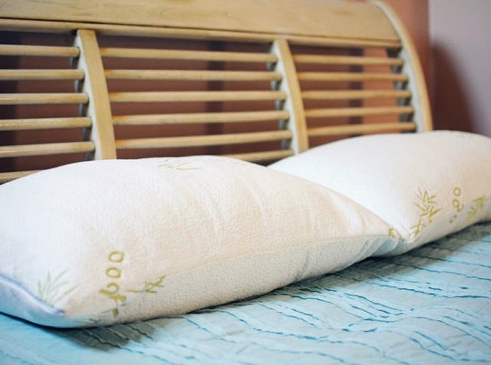 Amazon Com Original Bamboo Pillow Home Amp Kitchen