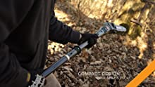 electric pole chain saw, cordless chain saw, auto-oiler chain saw, hooyman 40v saw, remington ranger