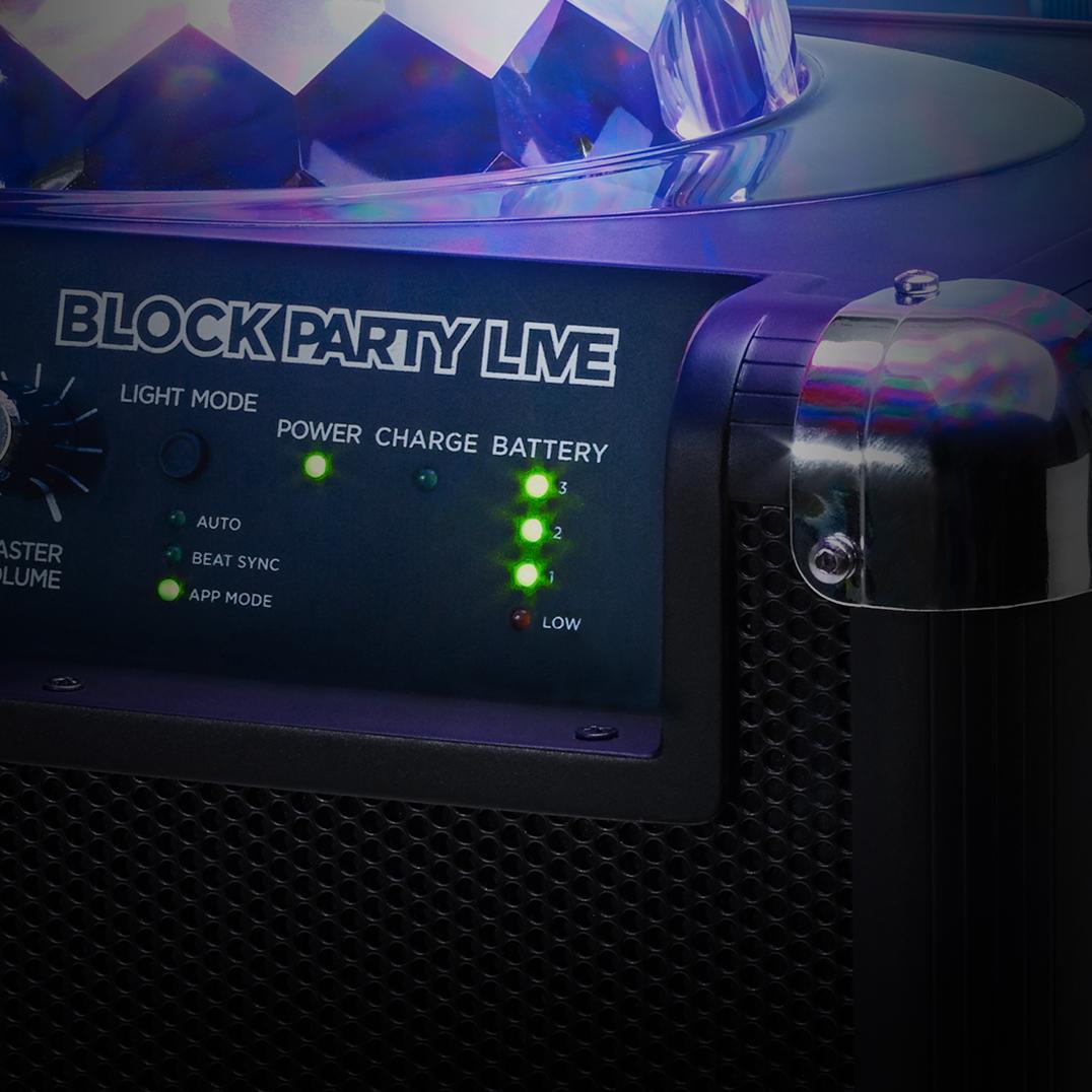 Amazon Com Ion Audio Block Party Live 50 Watt Portable