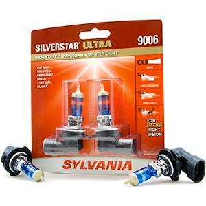 halogen; headlights; 9006; silverstar ultra; sylvania