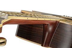 yamaha l series ls6 concert size acoustic electric guitar rosewood natural. Black Bedroom Furniture Sets. Home Design Ideas