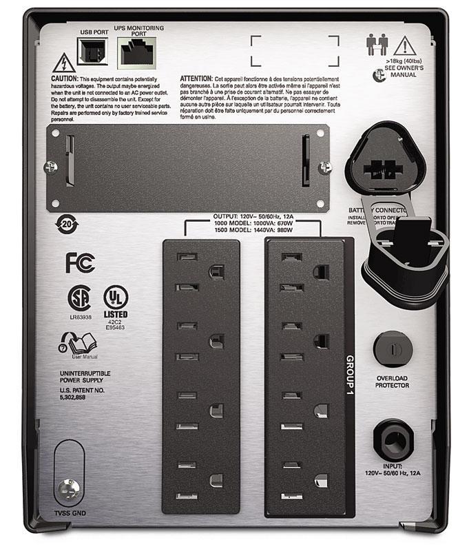 Amazon.com: APC Smart-UPS 1500VA UPS Battery Backup with
