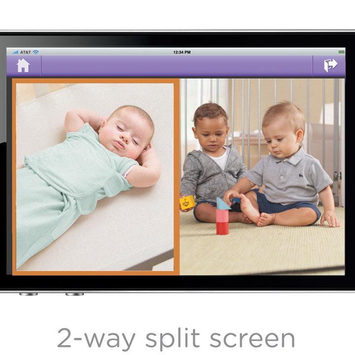 summer infant baby zoom wi fi video monitor and internet viewing. Black Bedroom Furniture Sets. Home Design Ideas
