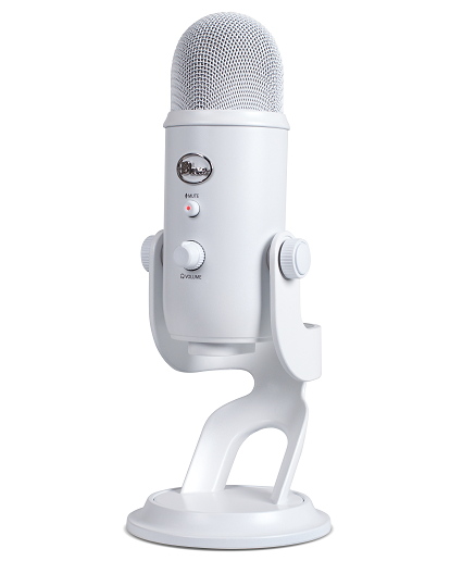 blue microphones yeti usb microphone whiteout musical instruments. Black Bedroom Furniture Sets. Home Design Ideas