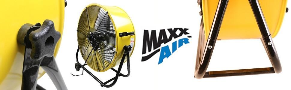Portable Air Circulators : Amazon maxxair bf tfyelups inch high velocity air
