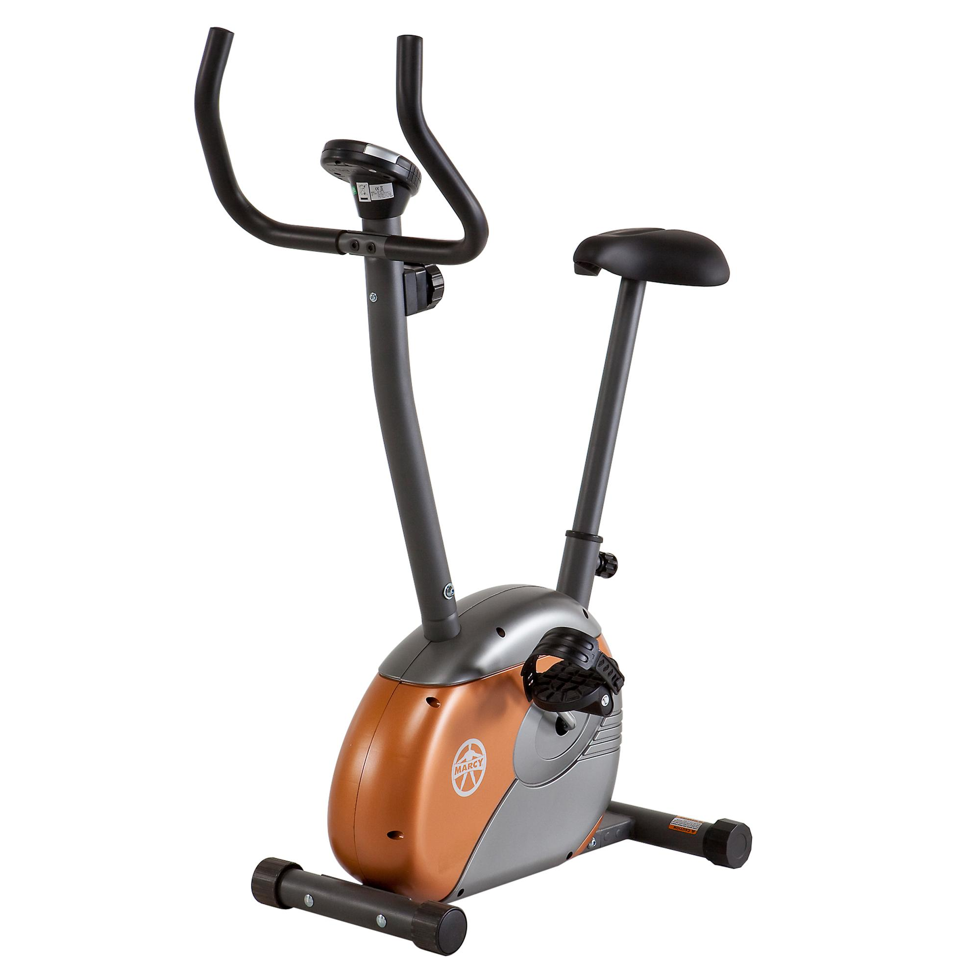 Marcy Upright Exercise Bike With Resistance Me 708