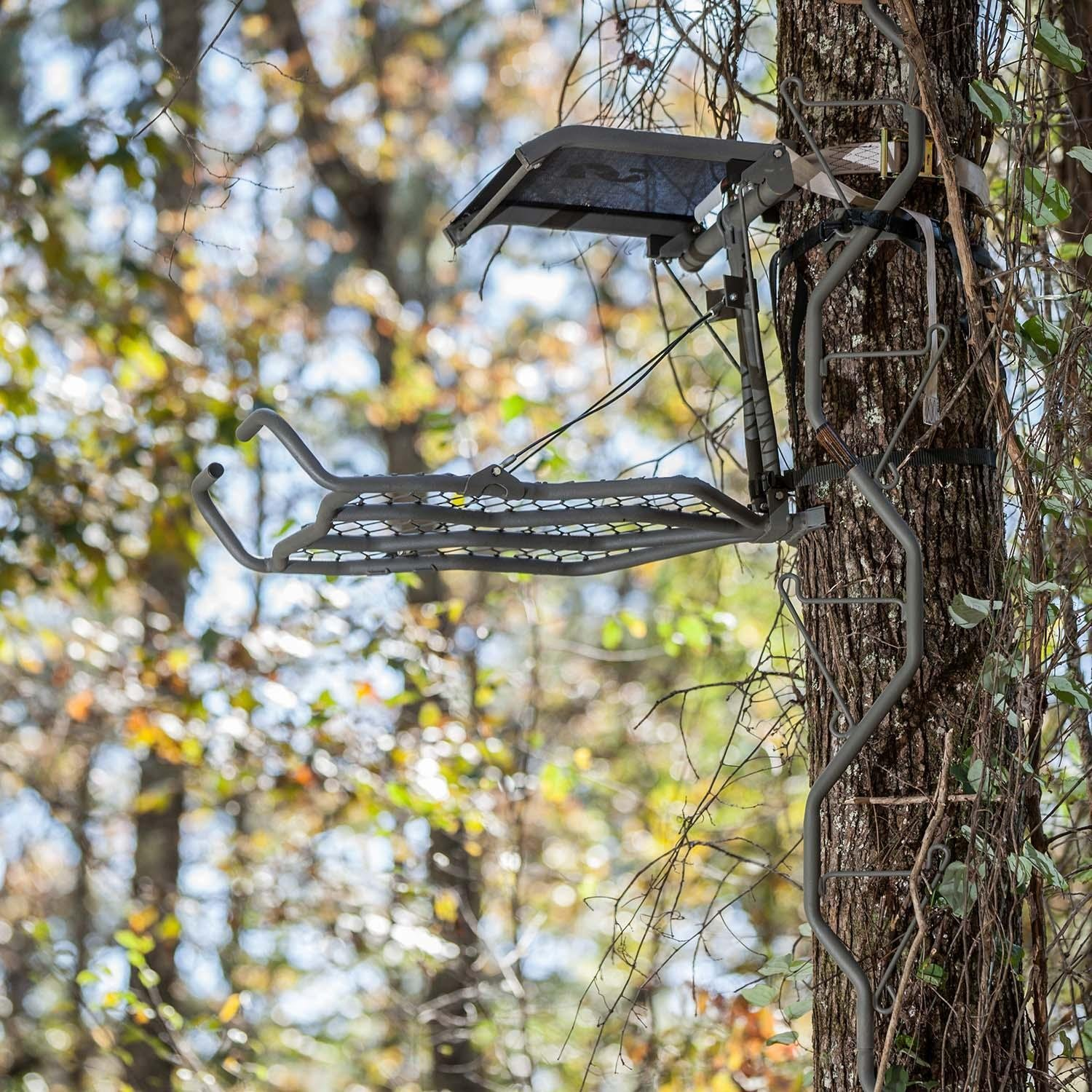 Amazon Com Summit Treestands Back Country Hang On