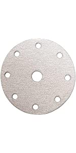 sanding discs with center hole, abrasive paper