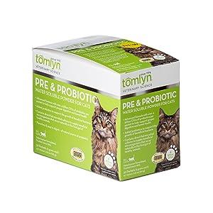 cat prebio probiotic support powder