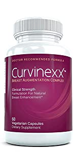Curvinexx, Clinical Strength Breast Augmentation Complex, for Natural Breast Augmentation, Dietary